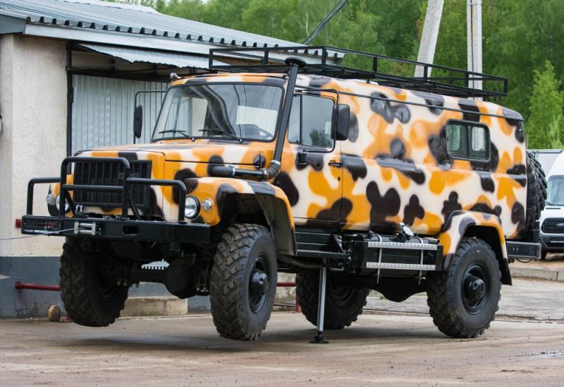 ГАЗ-33081 Садко для охоты и рыбалки (жилой модуль)
